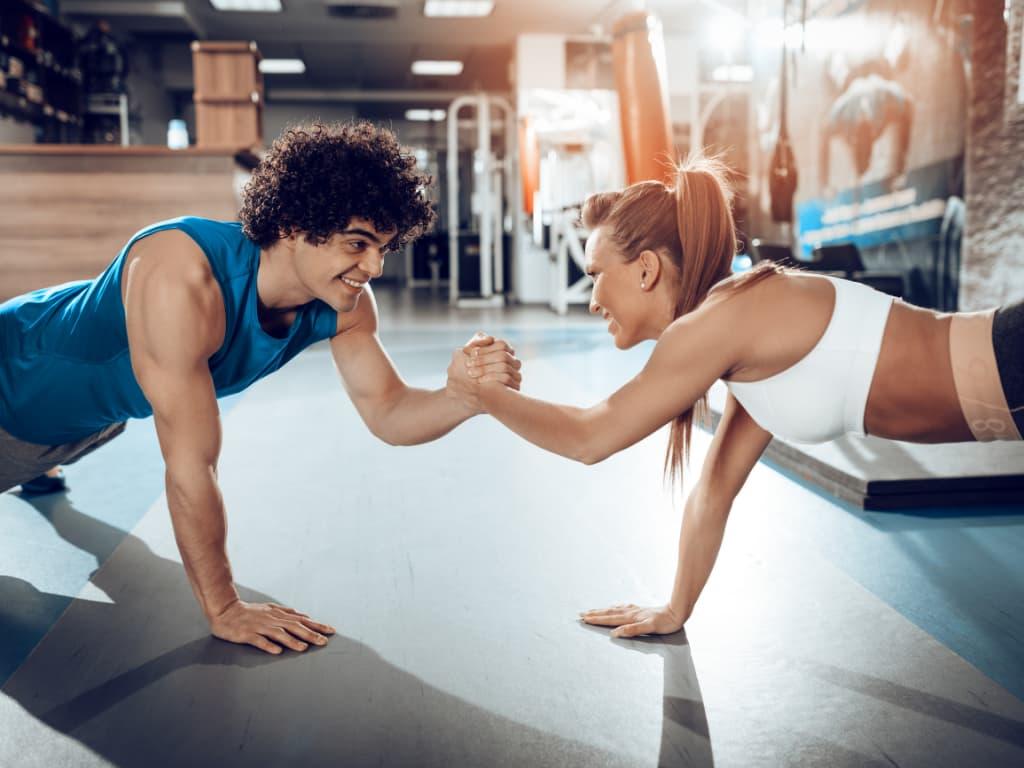 strength training program- workout partners