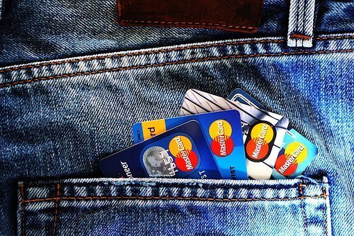 Credit Cards in pants pocket
