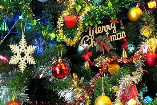 Things to do this Christmas- Decorated Christmas Tree