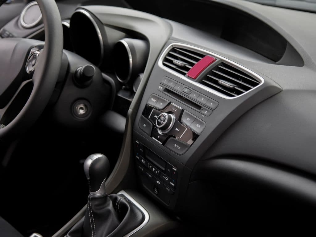 cars for sale- dashboard of new car
