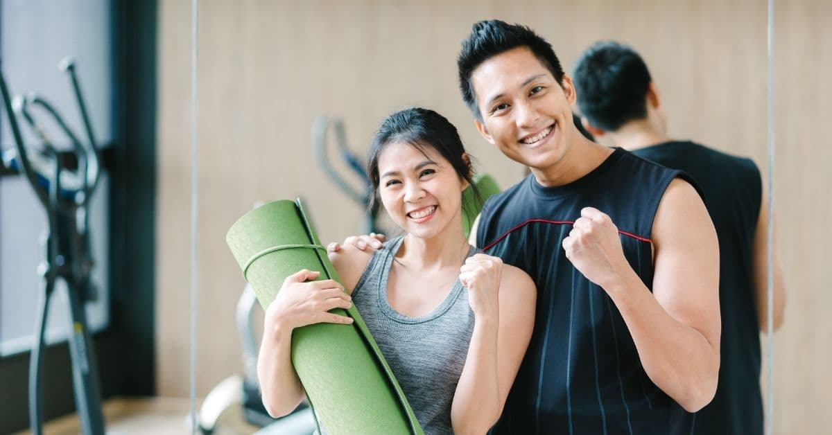 fat burner pills- couple training